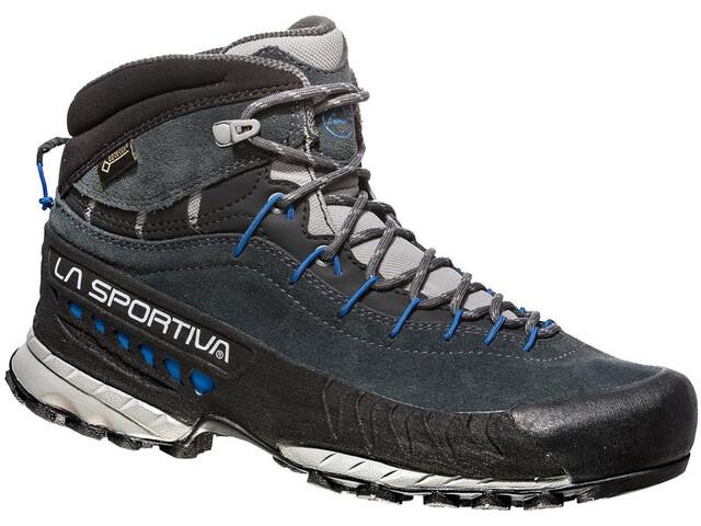 La Sportiva TX4 GTX Mid Zapatillas Mujer, carbon/cobalt blue